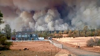 Video Hundreds of Structures Feared Destroyed in Butte County Wildfire MP3, 3GP, MP4, WEBM, AVI, FLV November 2018