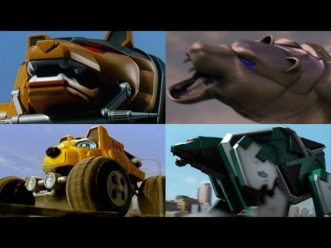 Summon the Bear Zords | Mighty Morphin - Samurai | Power Rangers Official