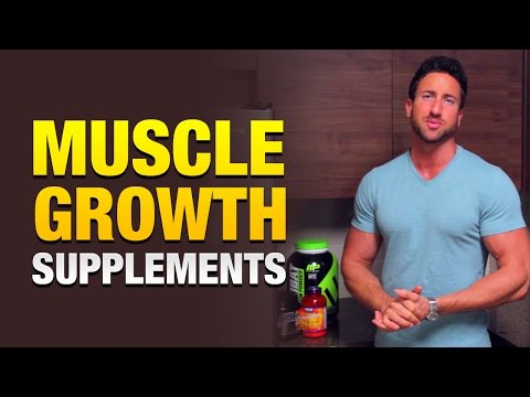 Muscle Growth Supplements: 3 Powerful Supplements To Get Huge
