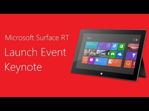 In Case You Missed It: The Official Microsoft Surface Launch Party – Video