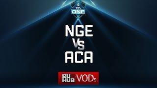 NGE vs AcA, ESL One Genting Quals, game 1 [Adekvat, Inmate]
