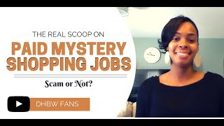 Where To Find Mystery Shopping Jobs - See Full Listhttp://www.dreamhomebasedwork.com/make-money-mystery-shopper/About FaceSecret ShopperApartment ShoppeBest MarkBeyond Hello Confero Inc. Customer Impact IntellishopMarket ForcePerformalogics Call Center QAHow To Avoid Mystery Shopping Scams1. Research all mystery shopping opportunities. 2. Search the internet for reviews and comments about mystery shopping companies that are accepting applications online. 3. No legitimate company will charge you to become a mystery shopper4. Never wire money for a mystery shopping assignmentTips on How To Find Legitimate Mystery Shopping Scamshttps://www.consumer.ftc.gov/articles/0053-mystery-shopper-scams
