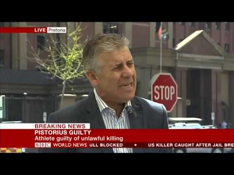 Oscar Pistorius verdict: what happens next? BBC News live from Pretoria