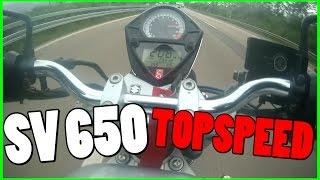 9. Suzuki SV 650 | 48PS | Acceleration | Topspeed | Sluty