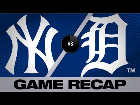 Video: Voit, Romine drive Yankees to 10-4 win | Yankees-Tigers Game 1 Highlights 9/12/19