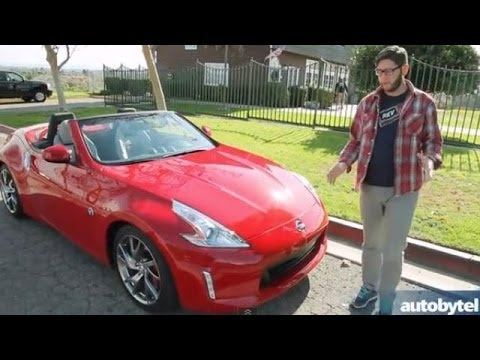 2014 Nissan 370Z Touring Roadster Test Drive Video Review