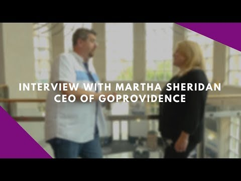 Interview with Martha Sheridan, CEO of GoProvidence