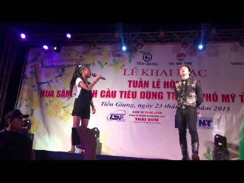 Lâm Chấn Khang hài hước tại hội chợ Mỹ Tho (29-1-2015) phần 2