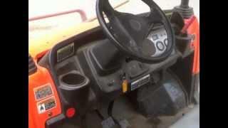 3. Driving the Kubota RTV 4X4 900