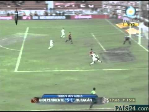 Independiente 5 - 1 Huracán (Clausura 2011)