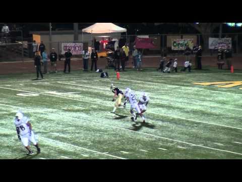 FOOTBALL BLOOPER FUNNY PASS FUMBLE INTERCEPTION TD ROSEMEAD HS 2010
