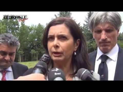 """Laura Boldrini: """"Non sono qui per fare passerelle"""""""