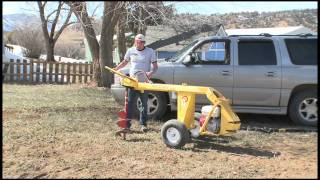 3. Target Rental, Durango - Groundhog HD99 Post Hole Auger