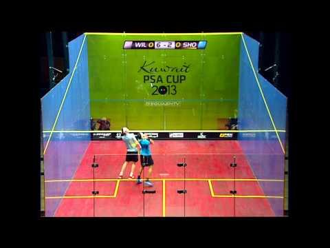 Squash : Kuwait PSA Cup 2013 SF Roundup: Ashour-Gaultier & Willstrop-El Shorbagy