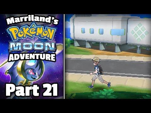Pokémon Moon, Part 21: Come On, Little Route Eight Secret Surprise! (видео)