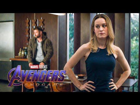 Avengers Meet Captain Marvel Scene - AVENGERS 4: ENDGAME (2019) Movie Clip