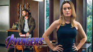 Avengers Meet Captain Marvel Scene - AVENGERS 4: ENDGAME (2019) Movie Clip