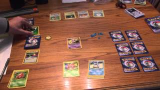 My first YouTube video: How to play the Pokemon trading card game! Things i forgot in video: Draw 1 card every turn at the...