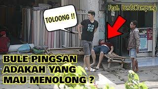 Download Video BULE PINGSAN, APA ORANG INDO MAU NOLONG ? - SOCIAL EXPERIMENT ! MP3 3GP MP4