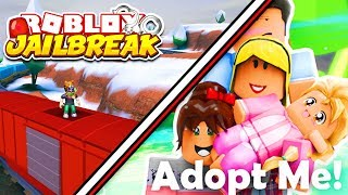 Roblox Jailbreak and Adopt Me NEW UPDATE! | New Roblox Merch | Volt Bike and Trains | Roblox LIVE
