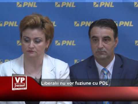 Liberalii nu vor fuziune cu PDL