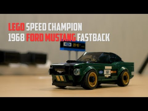 Ford Mustang Fastback Lego