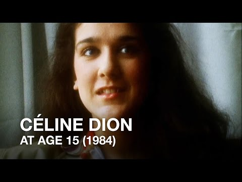 Céline Dion (15) on the power of Music (1984)