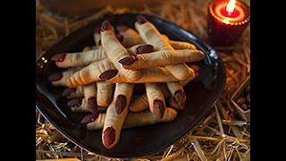 Videoricetta: dita di strega per Halloween