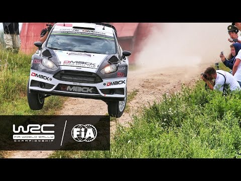 73rd PZM Rally Poland 2016: Highlights Stages 1-5
