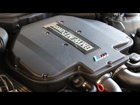 BMW E39 M5 S62 Upper Plenum Removal, New Hardware DIY