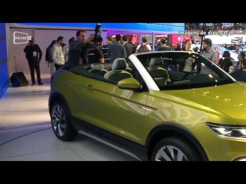 Confira o estande da Volkswagen no salão do automóvel; veja vídeo