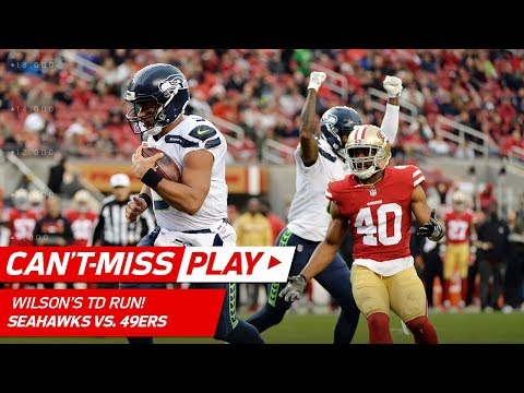Video: Bobby Wagner's Huge INT Leads to Russell Wilson's TD Run! | Can't-Miss Play | NFL Wk 12 Highlights