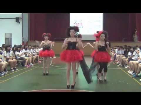 仰德高中102學年度美容科成果展-黑紅甜心
