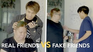 Video REAL FRIENDS VS FAKE FRIENDS MP3, 3GP, MP4, WEBM, AVI, FLV Mei 2018
