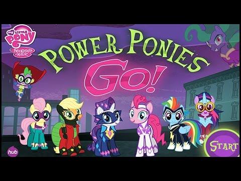 Дружба Это Чудо: Супер пони (My Little Pony Power Ponies Go) Полное прохождение игры
