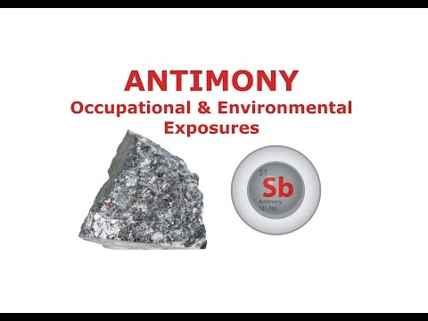 Antimony - Occupational & Environmental Exposures