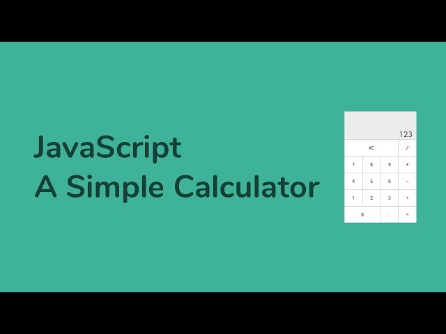 How to Create A Simple Calculator using JavaScript