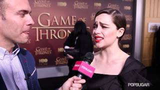Who knew Emilia Clarke was so kinky? The actress who plays Daenerys revealed to us a list of people she'd like to see her...