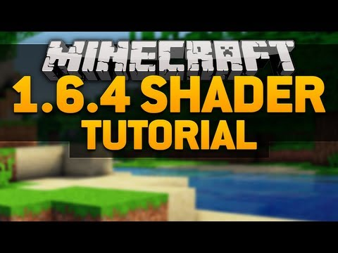 Minecraft Shader 1.7.4 Tutorial! Download the Shaders Mod and RudoPlays Shader for Minecraft 1.6.4! (видео)