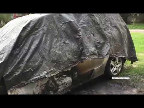 На Житомирщині згорів автомобіль бізнесмена