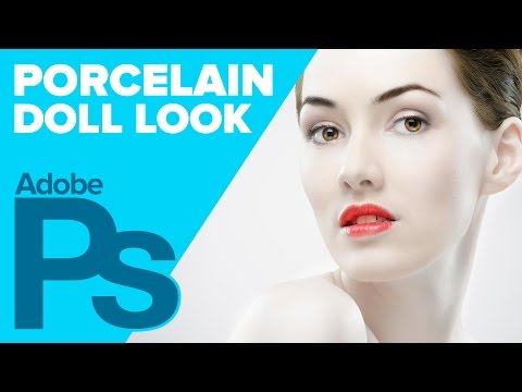 photoshop - In today's Photoshop tutorial, learn how to give your models a 'porcelain doll' look, using Adjustment Layers, Layer Masks, and the Liquify Filter. Support m...