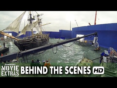In The Heart Of The Sea (2015) Behind The Scenes - Complete B-roll
