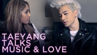 Host Morgan Lynzi talks with Taeyang about music and love. New Episodes Every Other Wednesday! Watch Ep. 2 on Asian Pop Music!