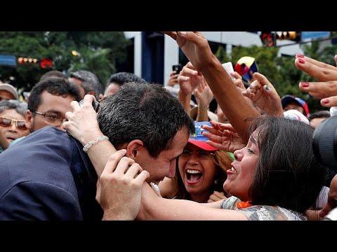 Venezuela: Putschversuch - Oppositionschef Guaidó e ...