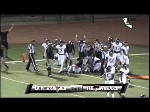 Ventura College Football Vs Moorpark College Oct 4 2014 Video