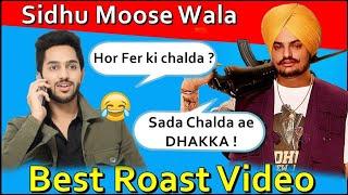 SIDHU MOOSE WALA | DHAKKA | Latest Punjabi songs roast video | Prince Dhimann