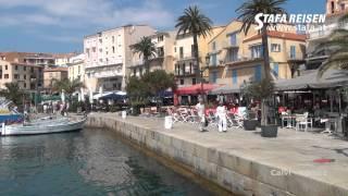 STAFA REISEN Video: Calvi, Korsika