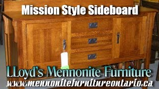 Mennonite Mission Style Sideboard