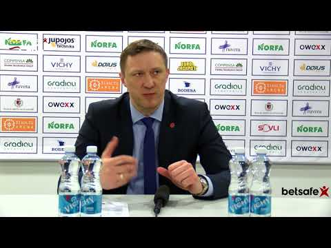 """""""Betsafe–LKL"""" rungtynių komentarai: """"Šiauliai"""" - """"Juventus"""" [2018-03-04]"""