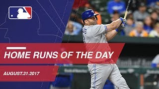 Check out all the homers around the Majors, Jueves 31 de Agosto 2017